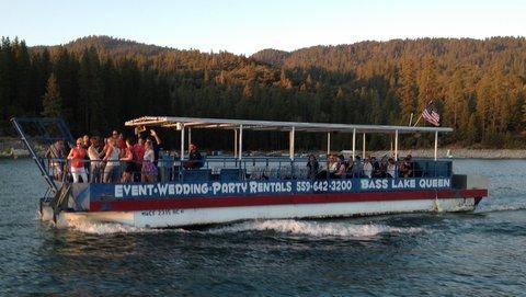 Bass Lake Queen Lake Tours