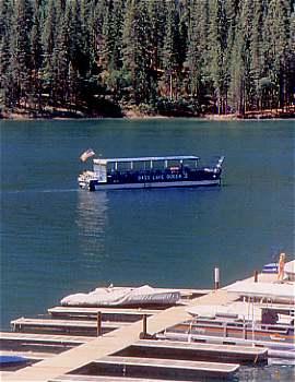 Bass Lake Queen on Bass Lake California