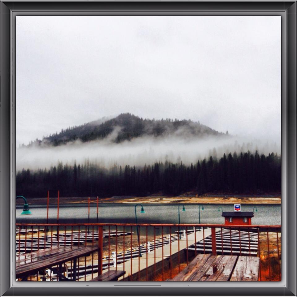 2014-02-08-wet-day-at-bass-lake-california