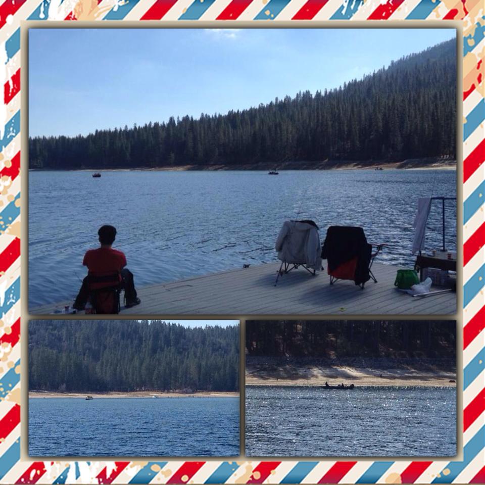 The fish are biting at bass lake bass lake boat rentals for Bass lake ca fishing