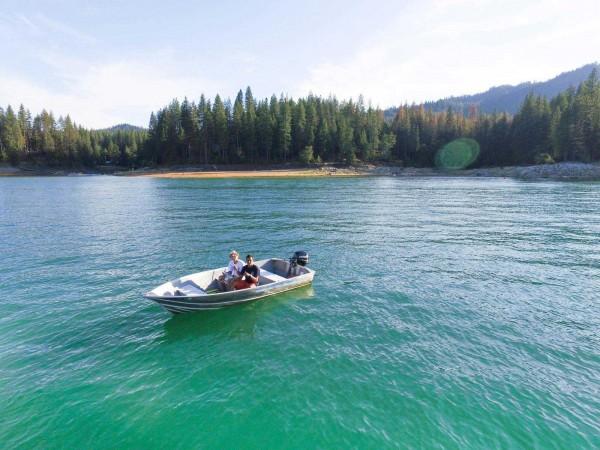 2015 Drone Chaperone Fishing At Bass Lake California