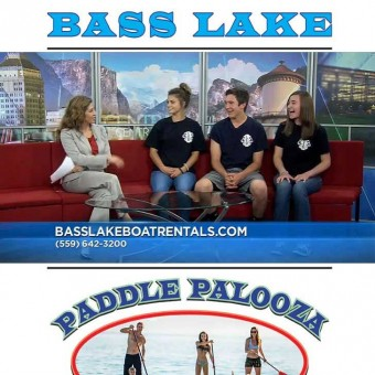 Paddle Palooza in Bass Lake Featured on YourCentralValley.com