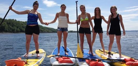 Kayaks Canoes Stand Up Paddleboard SUPS