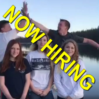Bass Lake Boat Rentals is Hiring for 2017