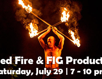 Bass Lake Fire Show and Music Lakefront Luau July 29, 2017, 7 to 10 PM