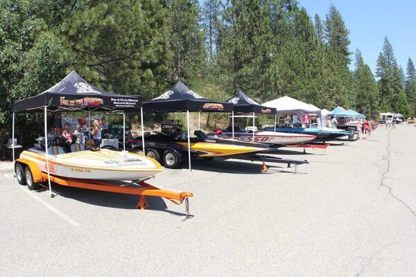 Bass Lake V-drive Boat Show 2018