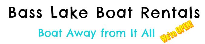 Bass Lake Boat Rentals Boat Away from It All Slogan 2020 Image 001 Yosemite Bass Lake Activities Inc